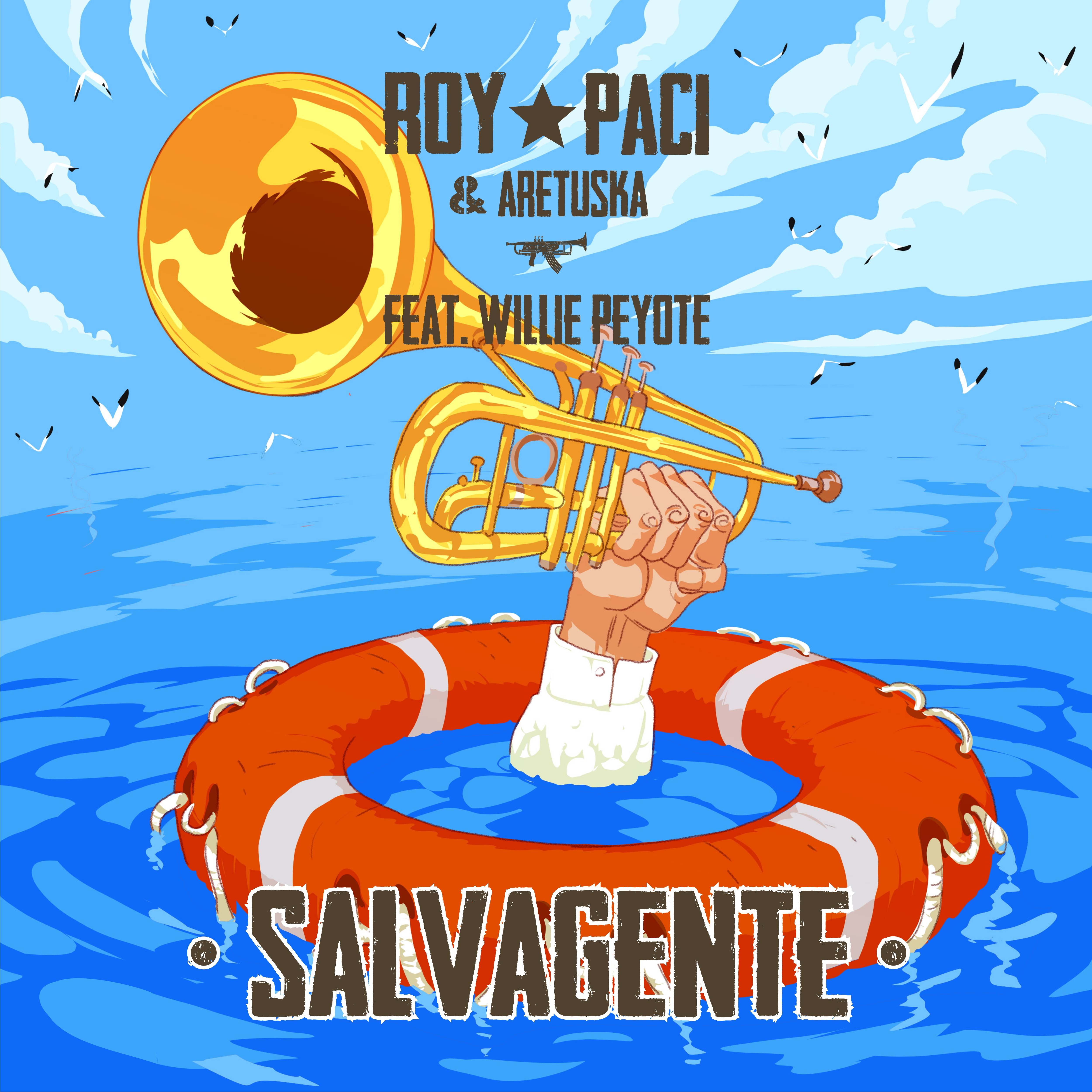 Cover_Salvagente - Artwork_Lelio Bonaccorso - Graphic design_Luca Molinaro